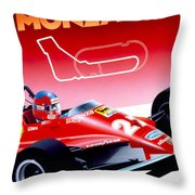 Monza Throw Pillow
