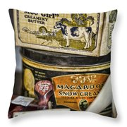 Moo Girl Throw Pillow