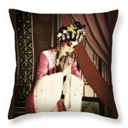 Mood Of The Orient  Throw Pillow