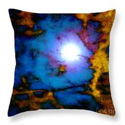 Moods Of The Moon Throw Pillow