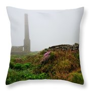 Moody Cornwall  Throw Pillow