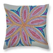 Moody Creation Throw Pillow