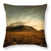 Moody Hills Throw Pillow