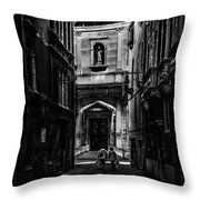 Moody Venice Throw Pillow