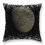 Moon Gimp Edit Throw Pillow