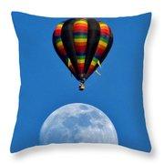 Moon Landing Throw Pillow