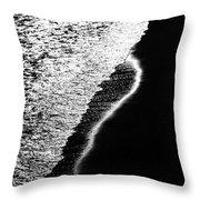 Moon Light  Rhapsody Throw Pillow
