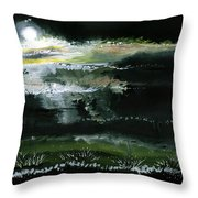 Moon N Light Throw Pillow