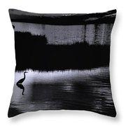 Moon N Ma Bird 2 Throw Pillow