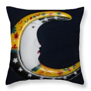 Moon Phase Throw Pillow