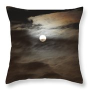 Moon Shine 2 Throw Pillow