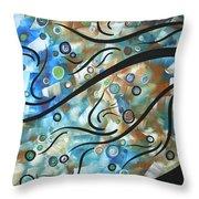 Moon Spell By Madart Throw Pillow