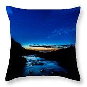 Moon Star Throw Pillow