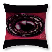 Moon In The Arches In Polar Transformation Throw Pillow