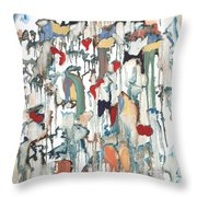 Moondrops Throw Pillow