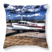 Mooney M20f  Throw Pillow