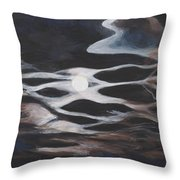 Moonglow Throw Pillow