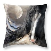 Moonlight And Valentino Throw Pillow