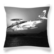 Moonlight Buckeye T 2c Training Mission Throw Pillow