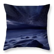 Moonlight Throw Pillow by Jorge Maia