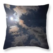 Moonlight Madness Throw Pillow