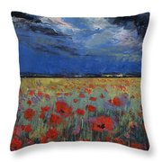 Moonlight Throw Pillow by Michael Creese
