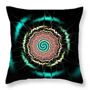 Moonlight Pond Throw Pillow