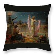 Moonlight Serenade Throw Pillow