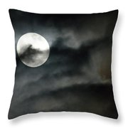 Moonlit Dreams Throw Pillow