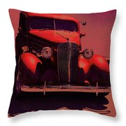 Moonrise Graphic Throw Pillow