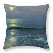 Moonrise Throw Pillow by Guillermo Gomez y Gil