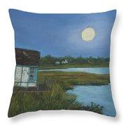Moonrise Orient Point Throw Pillow