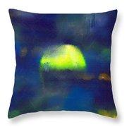 Moonrise Primitive Throw Pillow