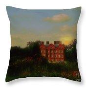 Moonrise - Sunset Throw Pillow
