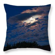 Moonscape Throw Pillow by Robert Bales