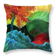 Moonstorm Throw Pillow