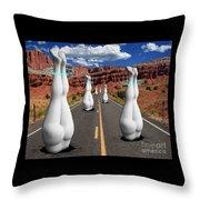 Moonvalley Throw Pillow