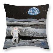 Moonwalker Throw Pillow
