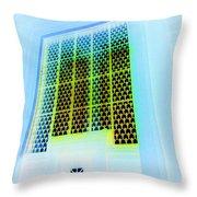Moorish Portal In Abstract Throw Pillow