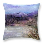 Moorland View 1 Throw Pillow
