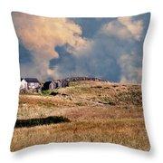 Moors Of Block Island Throw Pillow