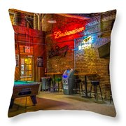Moosehead Saloon Throw Pillow