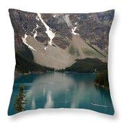 Moraine Lake - Alberta - Canada Throw Pillow