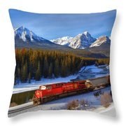 Morant's Curve Throw Pillow