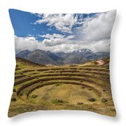 Moray - Peru Throw Pillow