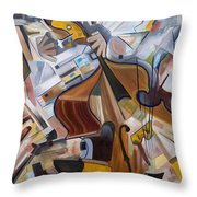 More Bass Throw Pillow