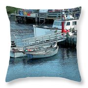 More Boats Throw Pillow