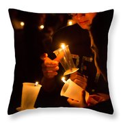 More Candles At Relay For Life Throw Pillow