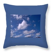 More Clouds Throw Pillow
