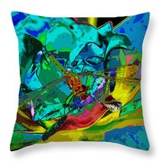 More Dragonfly Art Throw Pillow